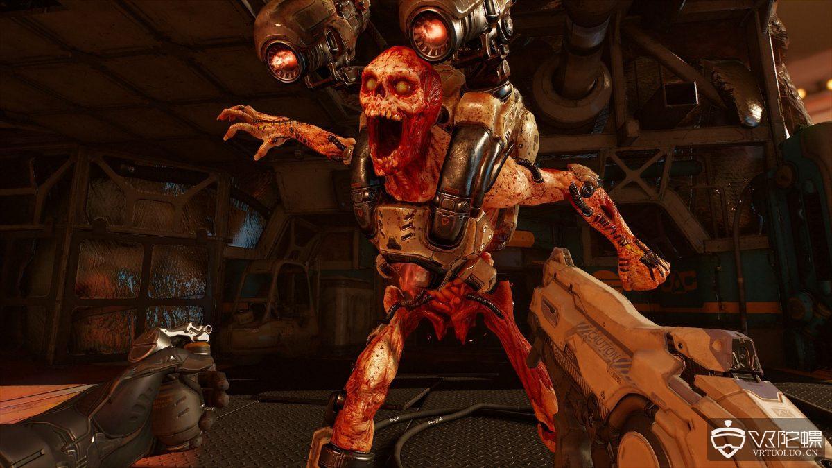 SteamVR更新使《Doom VFR》支持Oculus Rift,B社:还没空适配Rift平台