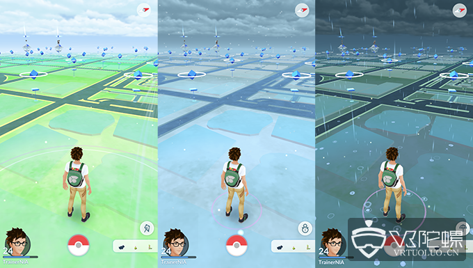 《精灵宝可梦GO》迎更新:新增动态天气系统及50多款小精灵