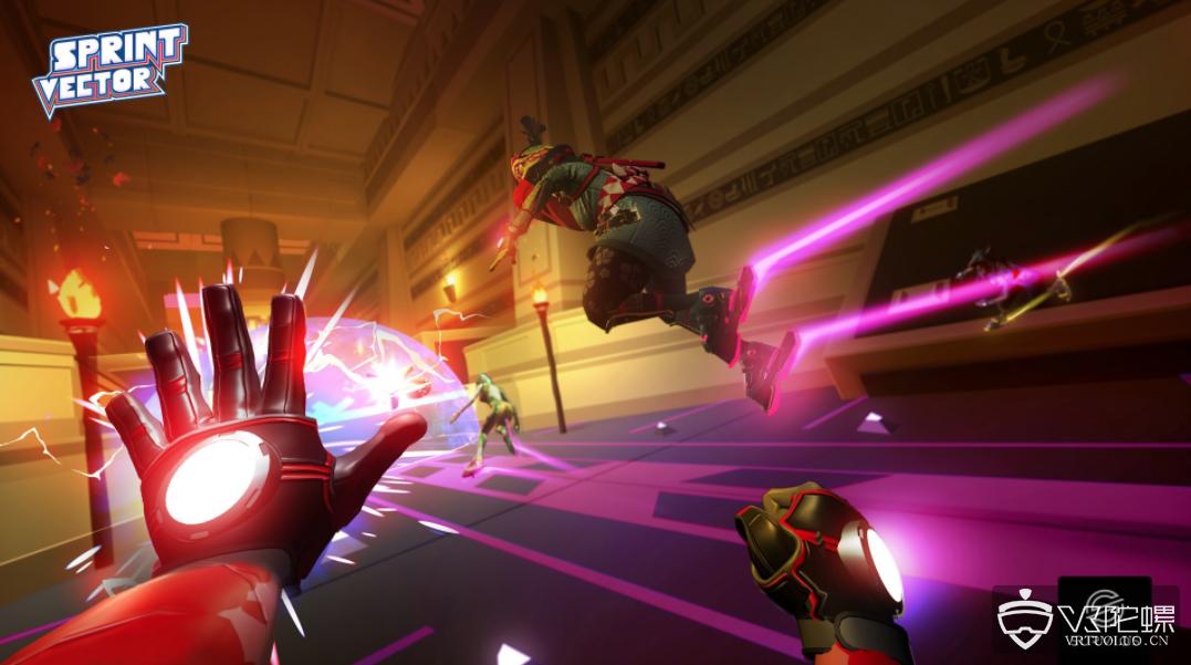 """英特尔推出""""Sprint Vector""""公测版VR空降电子竞技大赛"""