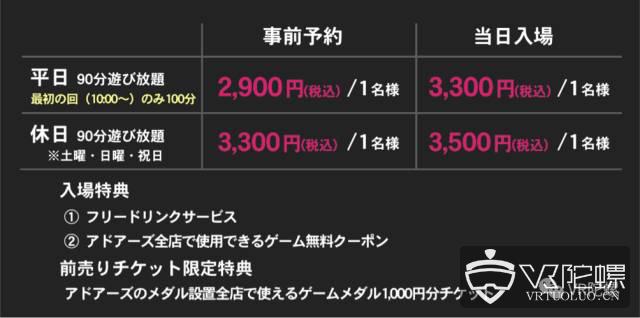 日本VR线下体验店调查:月流水150万?VR PARK TOKYO涉谷店