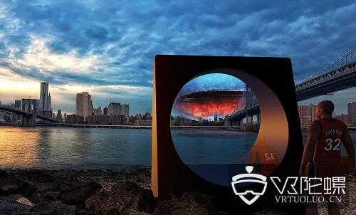 无需眼镜设备!RealFiction将于CES展推出世界最大AR显示器