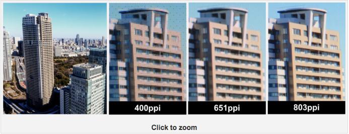 JDI发布803ppi像素密度LCD面板,专为VR打造