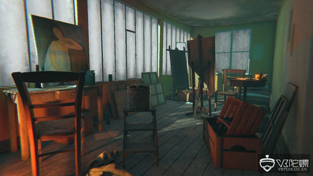 足不出户看大师画展:Modigliani VR展登陆Viveport