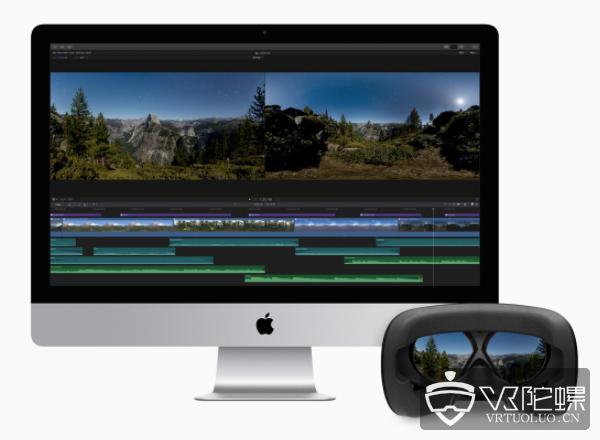 苹果的 Final Cut Pro X 更新,支持360度视频剪辑功能