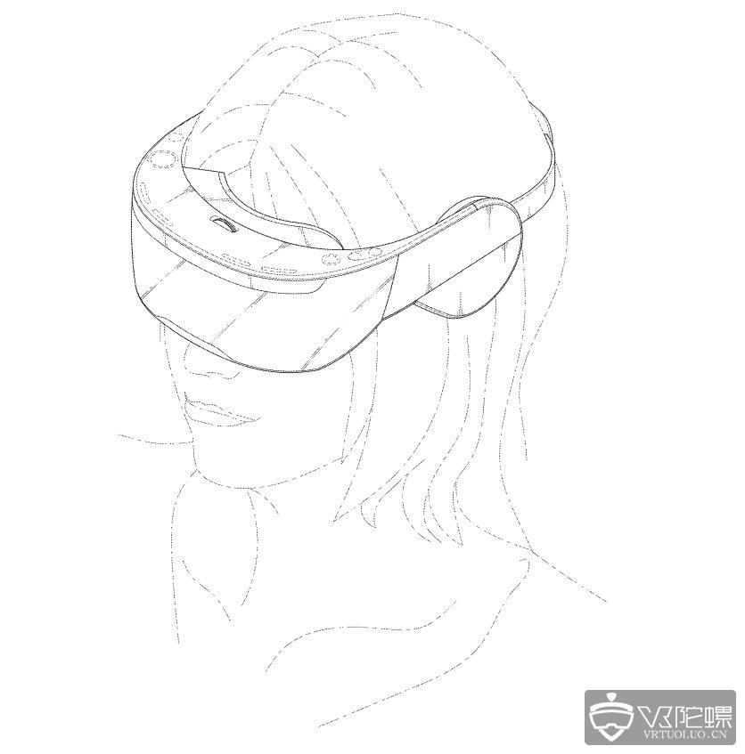 LG VR头盔再现专利:自带耳机,或非SteamVR头盔设备