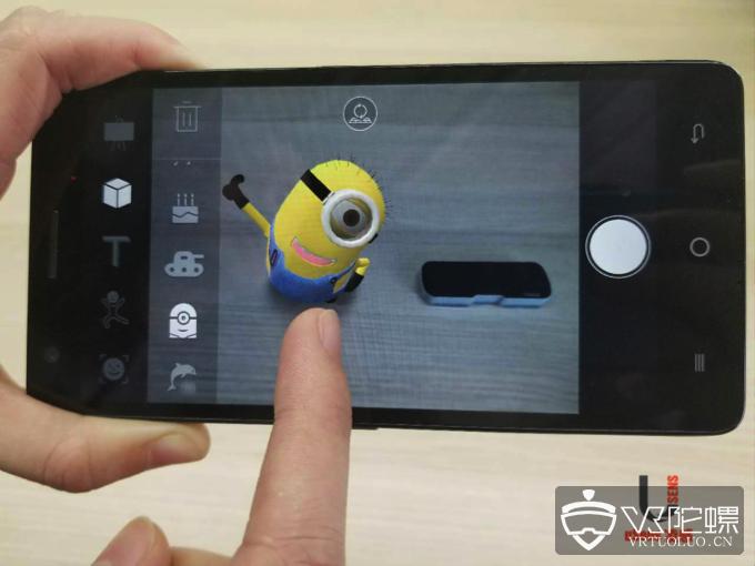 uSens推手机AR方案:适配中低端手机
