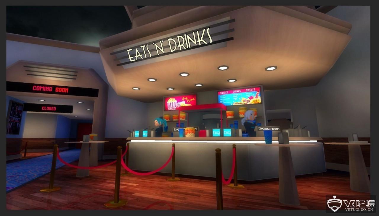 牵手Bigscreen,派拉蒙首个VR影院将于12月29开启首映