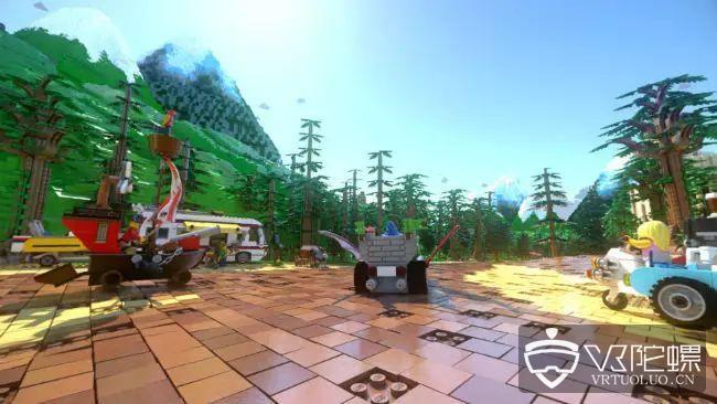 乐高乐园VR过山车即将上线,可与乐高小人赛车