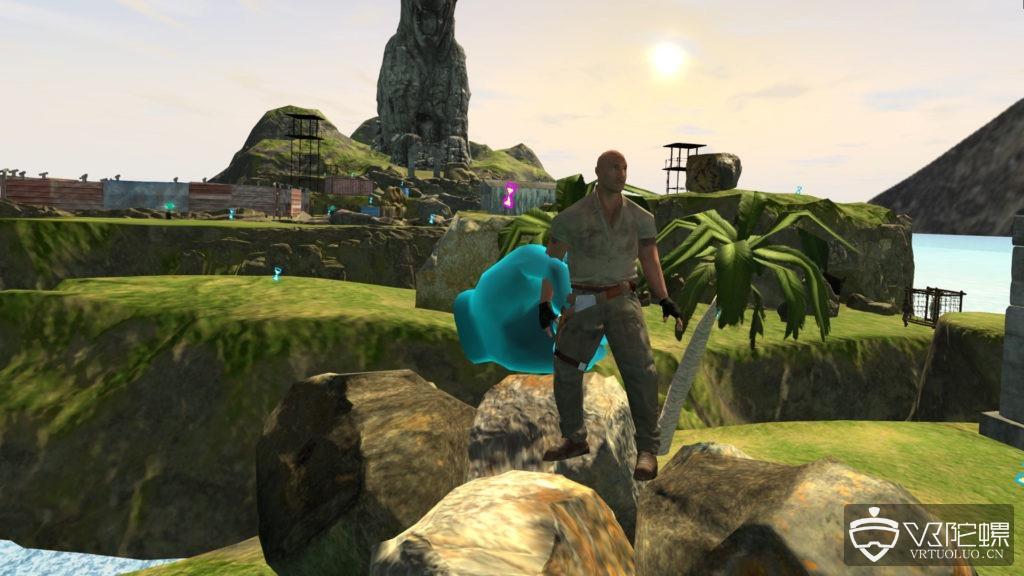 索尼和Survios合作带来《勇敢者的游戏》VR线下体验