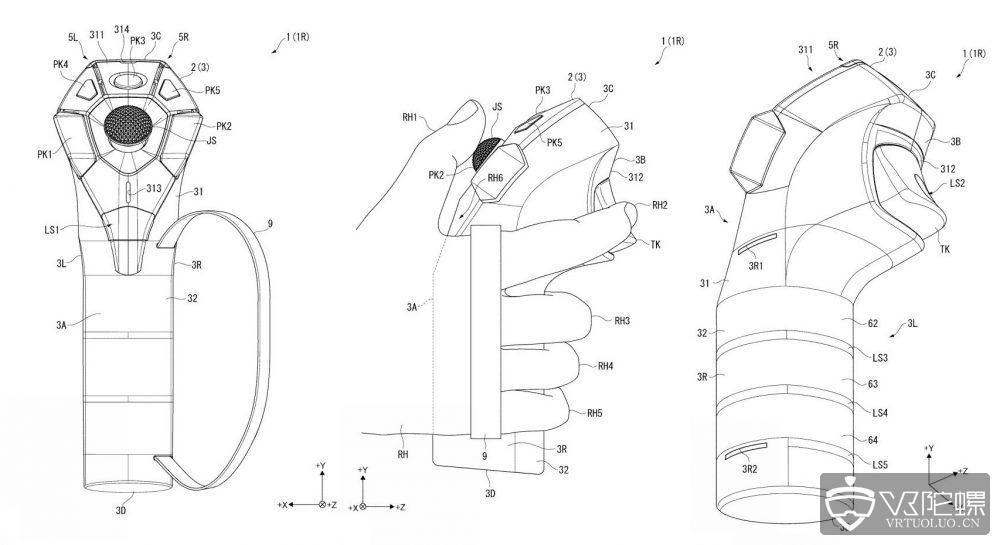 索尼新专利曝光:新版PSVR控制器或研发中