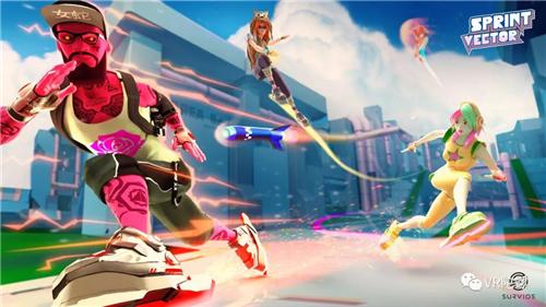 比《马里奥赛车》更疯狂,奇葩VR游戏《Sprint Vector》评测