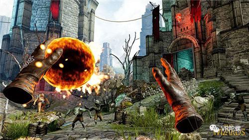 波兰团队开发,超中二VR游戏《The Wizards》独家测评