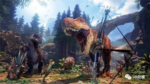 《方舟》系列首个VR游戏:虐恐龙、养恐龙,一秒回到侏罗纪世界!