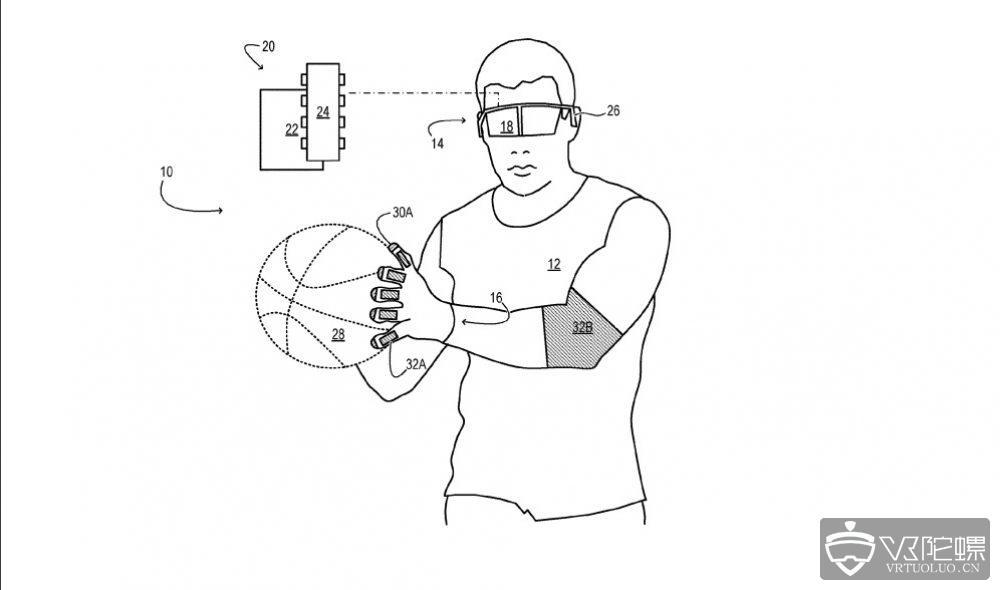 微软发布新专利,利用电压为MR提供触觉反馈