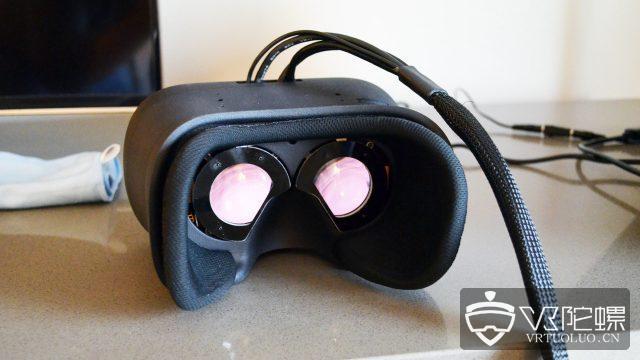 VR公司Varjo在AWE大会发布最新VR头显原型