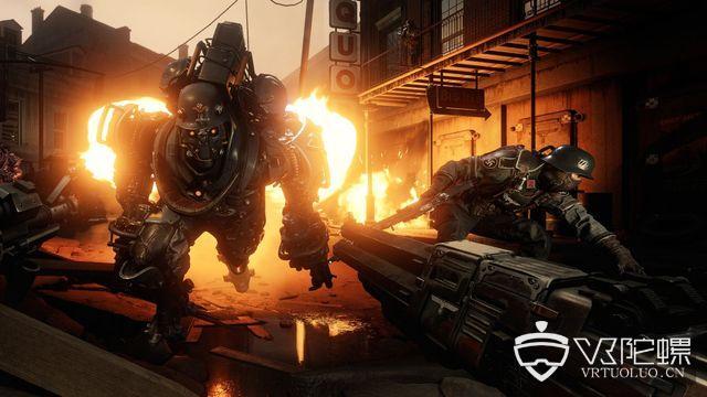 E3 2018:B社宣布VR游戏《Wolfenstein Cyberpilot》和《Prey》VR模式即将面市