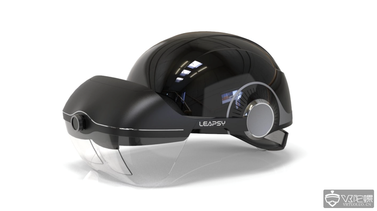 Leapsy推出国内首款工业定制热成像AR头显 目标电力行业