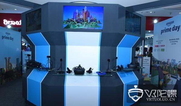 亚马逊在印度测试VR零售亭