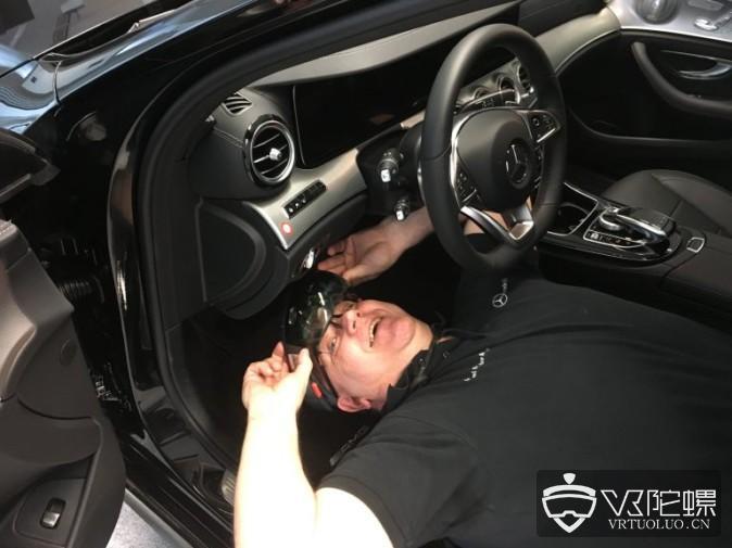 梅赛德斯奔驰在培训中心导入100多台HoloLens,用于汽车修理、产品知识培训