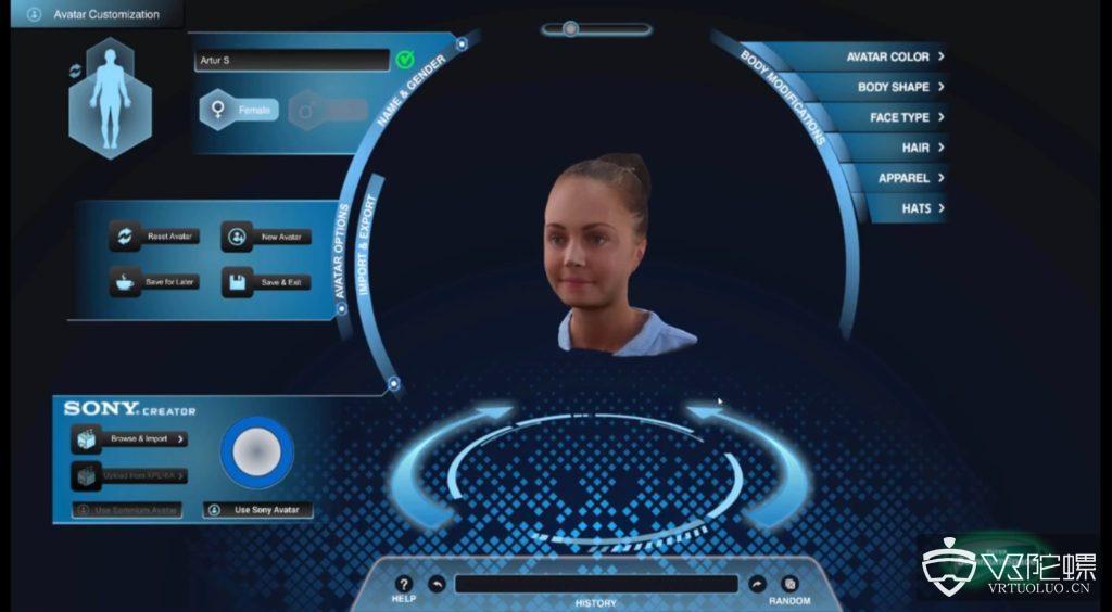 Somnium Space发布3D 扫描技术,用户可在VR中自拟角色形象