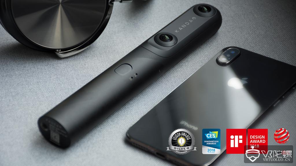 看到科技发布QooCam全景相机,售价2499元支持3D 4K防抖拍摄