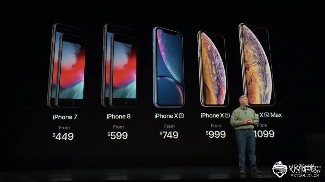 双卡双待、多人对战AR游戏、实时渲染芯片,苹果发布会的重点其实是……