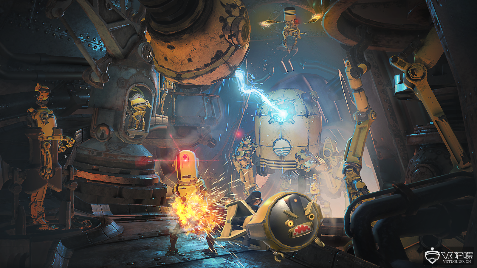 维塔工作室宣布AR游戏《Dr.Grordbort's Invaders》登陆Magic Leap One