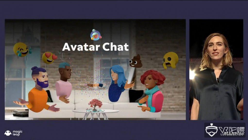 Magic Leap推出AR社交应用 Avatar Chat,将于12月上线
