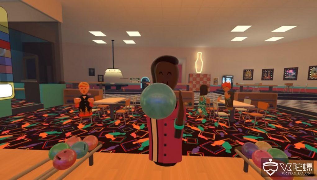 社交VR应用《Rec Room》宣布更新,带来多人虚拟保龄球游戏