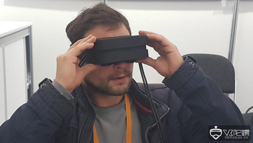 重量500克,德国Fraunhofer推出采用微型OLED屏的VR头显