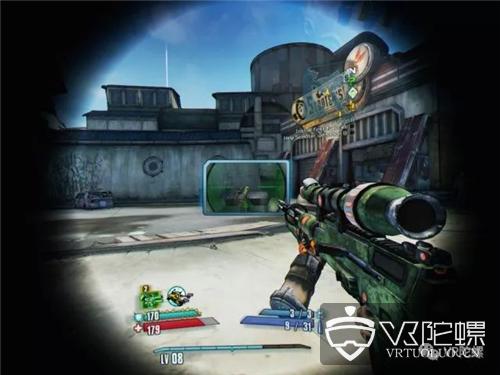 《无主之地2 VR》:游戏好玩,但就是VR体验极差?