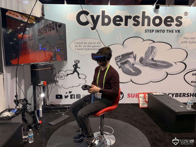 【CES2019】Cybershoes新款VR体感鞋套装亮相,预售价299美元