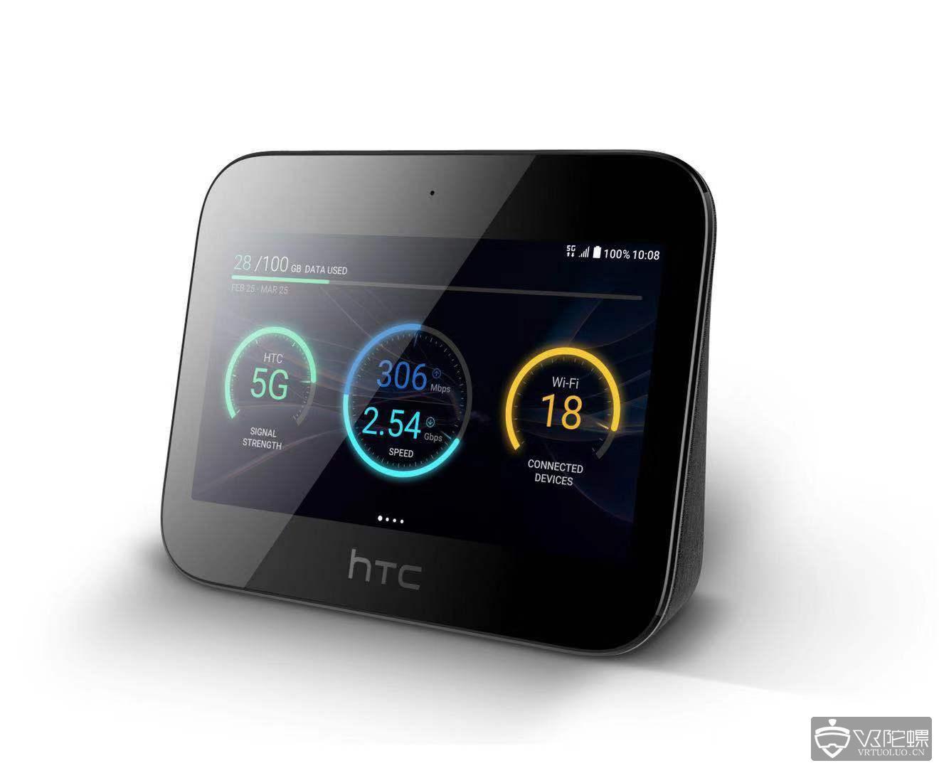 【MWC2019】HTC 展示创新 5G 移动智能网络中心HTC 5G Hub,将支持Vive Focus联动
