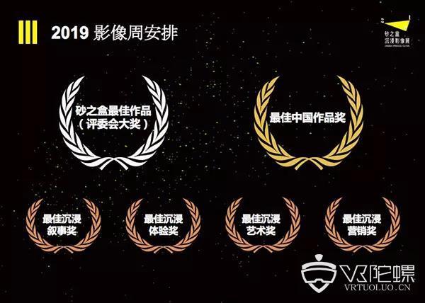 设立六大奖项,砂之盒沉浸影像展 (SIF 2019) 全球征集计划开启