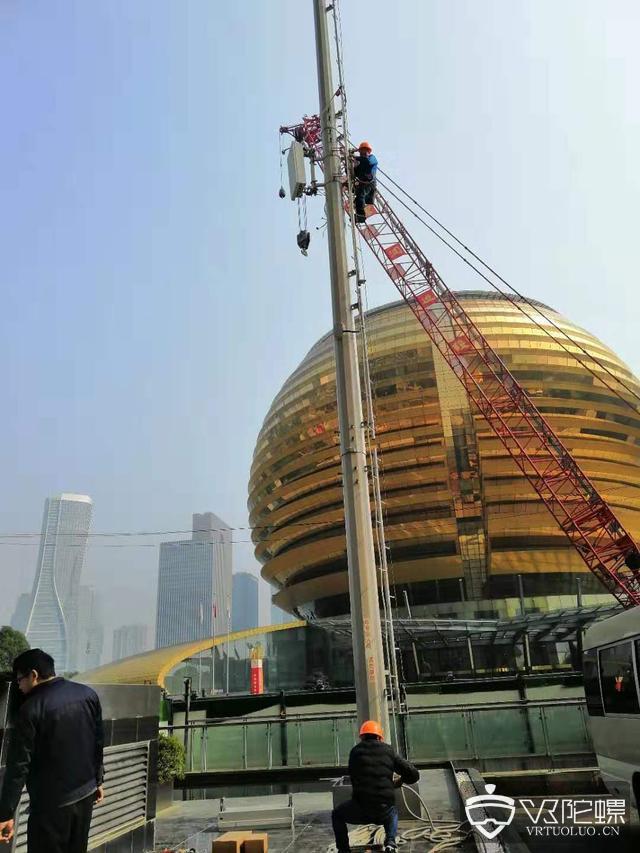 中国移动全国首批满足5G商用网标准基站在杭州开通