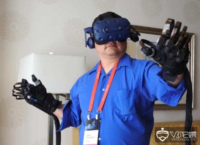 触觉团队HaptX与VR医疗公司Fundamental VR合作推出VR手术手套