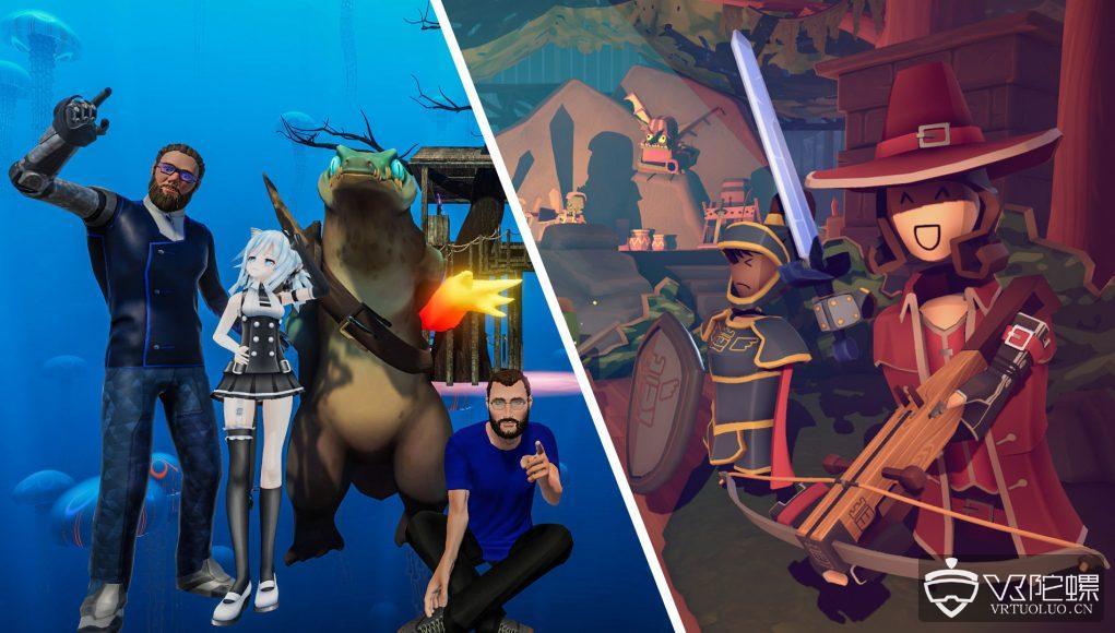 VR社交app《Social VR Rec Room》和《VRChat》即将上线Oculus Quest