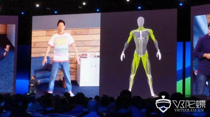 Facebook展示全身动捕技术,目标通过一个传感器检测肌肉运动