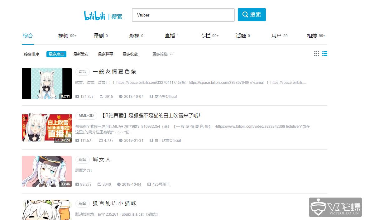 B站CEO陈睿:虚拟主播业务增长强劲,平台虚拟主播超6000位
