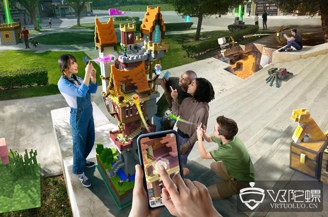 微软宣布AR游戏《Minecraft Earth》正式版将于年底发布