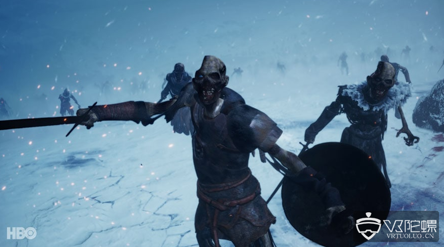 Vive携手HBO推出VR版权利的游戏《Beyond the Wall》