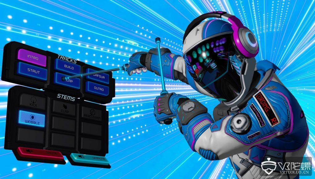 Survios音乐VR游戏《Electronauts》登陆Oculus Quest,售价20美元
