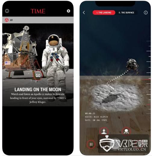 《时代周刊》推出TIME Immersive,展示AR/VR新闻故事