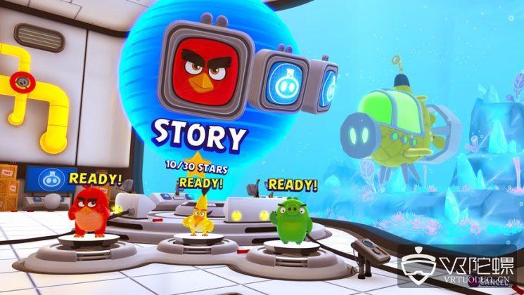 全新《愤怒的小鸟》VR游戏8月6日登陆PSVR,采用合作玩法将与电影联动