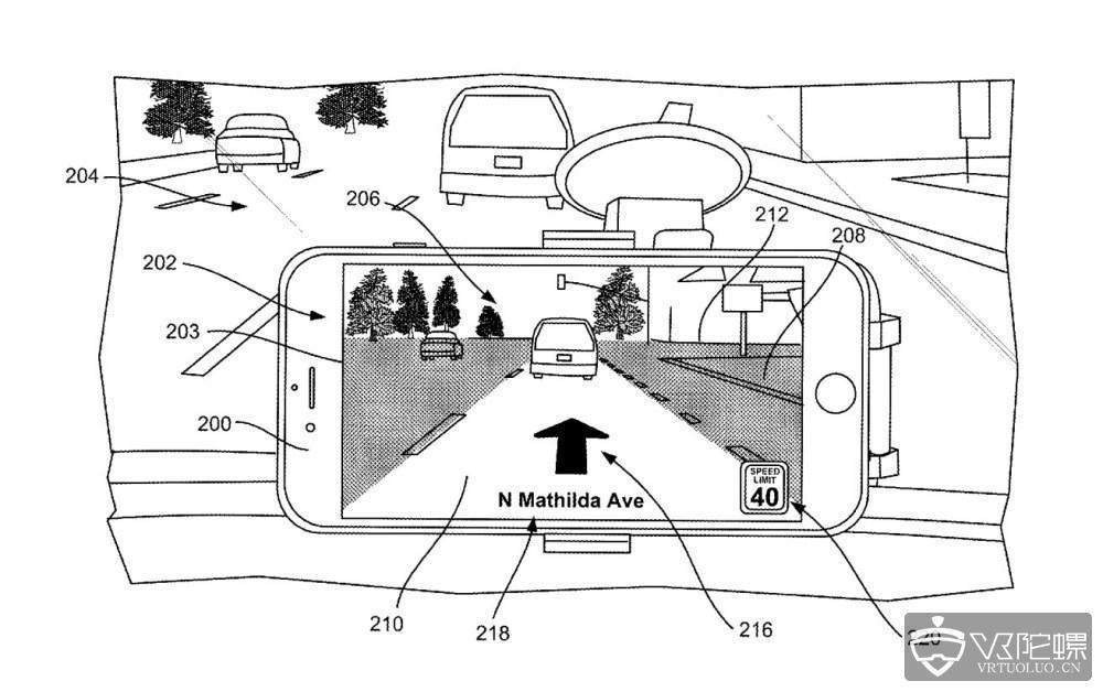 苹果新专利曝光:或正在开发AR地图导航功能