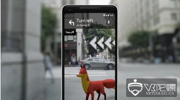 谷歌地图AR导航功能推出iOS及Android测试版