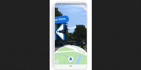 Google地图开放AR徒步导航功能