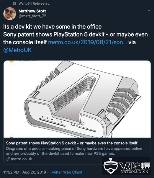 索尼:PS5将于2020年年末正式上市