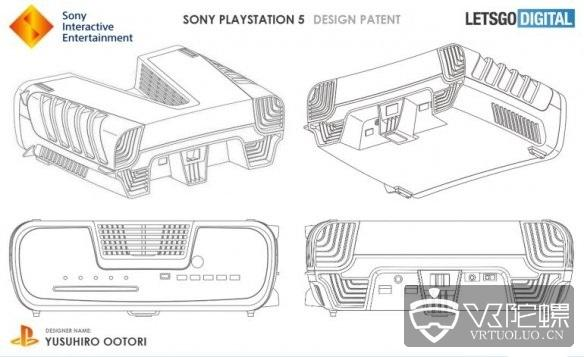 疑似索尼PS5开发机外观专利曝光