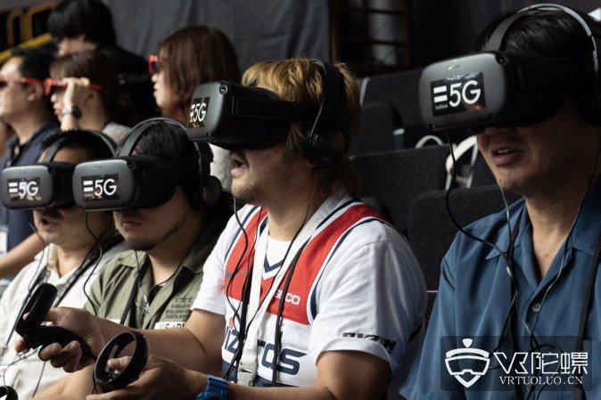 使用Oculus Quest、Nreal Light看篮球赛,日本软银推动5G+VR/AR应用落地